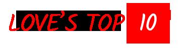 Loves Top 10 Logo